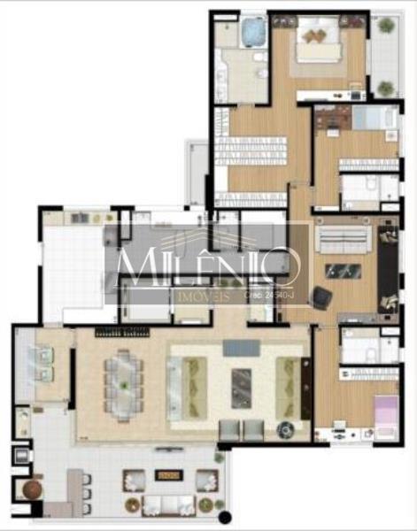 Apartamento de 5 dormitórios em Vila Cordeiro, São Paulo - SP