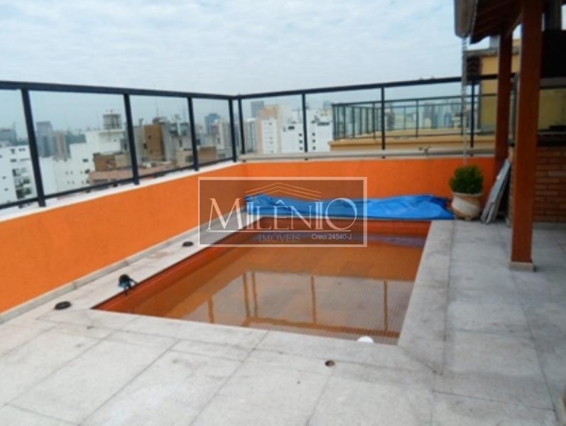 Cobertura de 2 dormitórios em Brooklin Paulista, São Paulo - SP