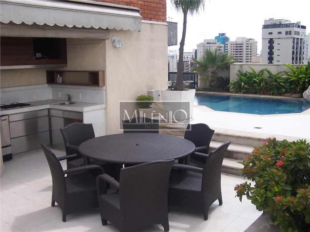 Cobertura residencial à venda, Moema, São Paulo - CO0162.
