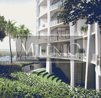 Apartamento de 2 dormitórios em Coconut Grove, Miami - FL