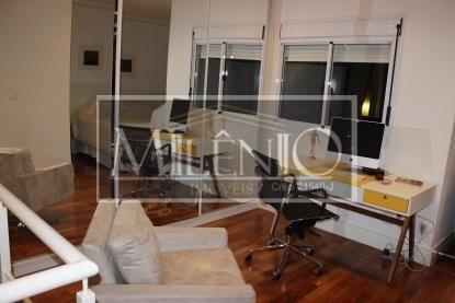 Apartamento Duplex de 1 dormitório à venda em Moema, São Paulo - SP