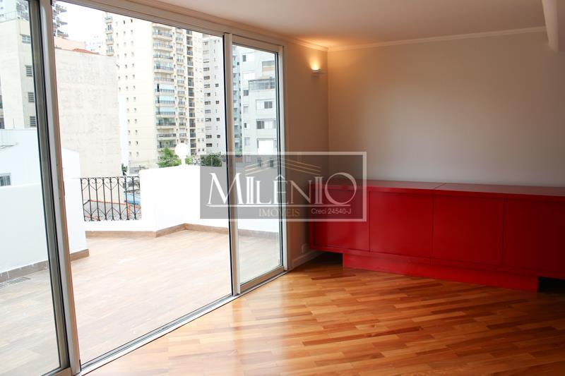 Apartamento Duplex de 1 dormitório em Higienópolis, São Paulo - SP