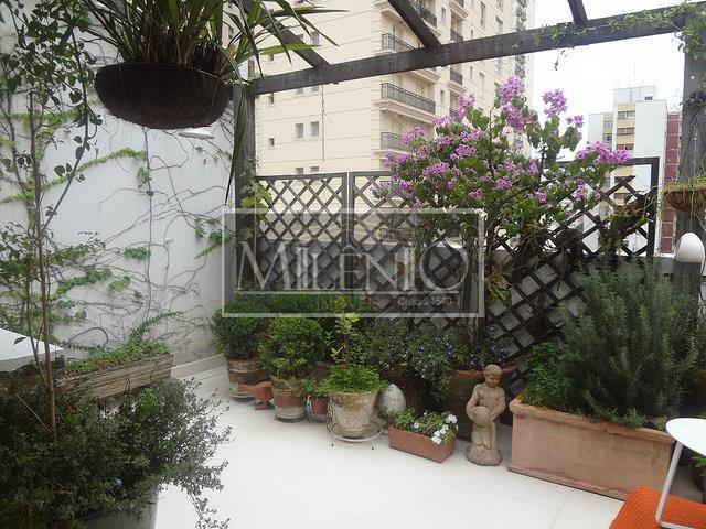 Cobertura de 1 dormitório em Jardim América, São Paulo - SP