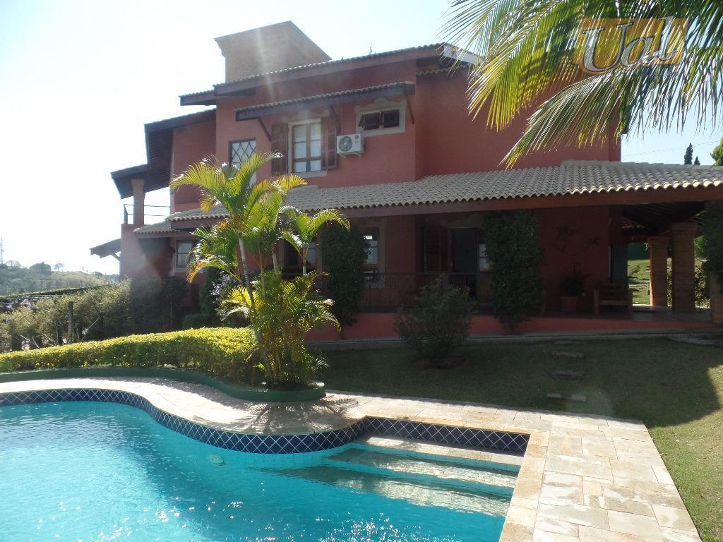 Sobrado residencial à venda, San Fernando Valley, Atibaia - SO0534.