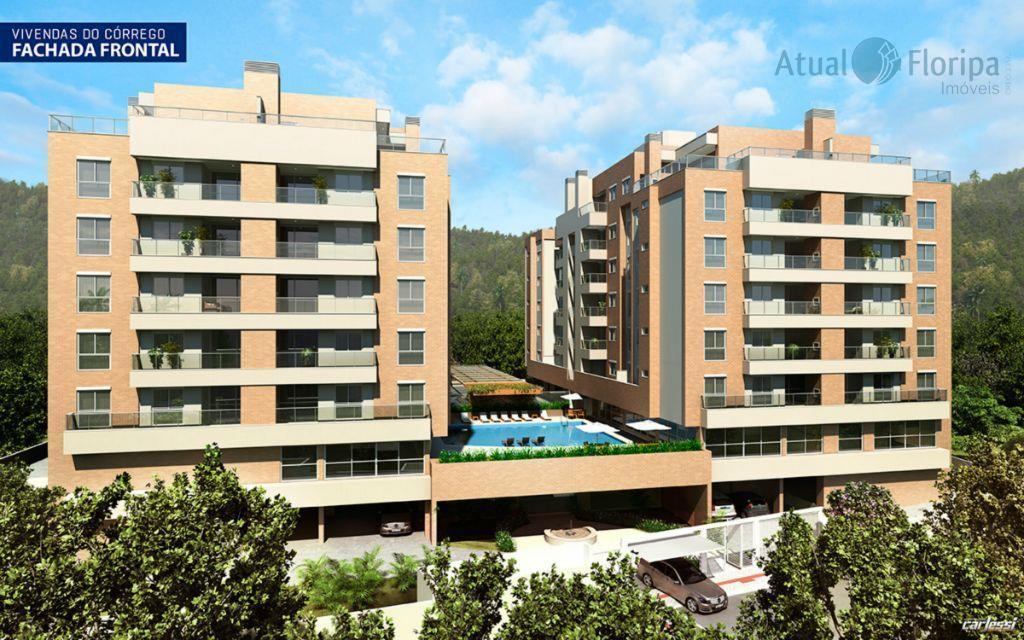 Apartamento  residencial à venda, Córrego Grande, Florianópolis.