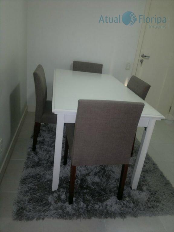 apartamento mobiliado eequipado! com 2 dormitórios, sendo 1 suíte, sala para 2 ambientes, sacada, cozinha, área...