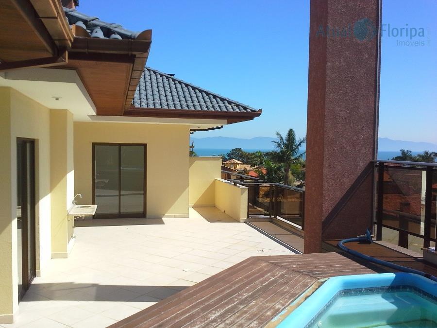excelente cobertura, com vista encantador para o mar. 3 dormitórios , sendo duas suites, duas vagas...