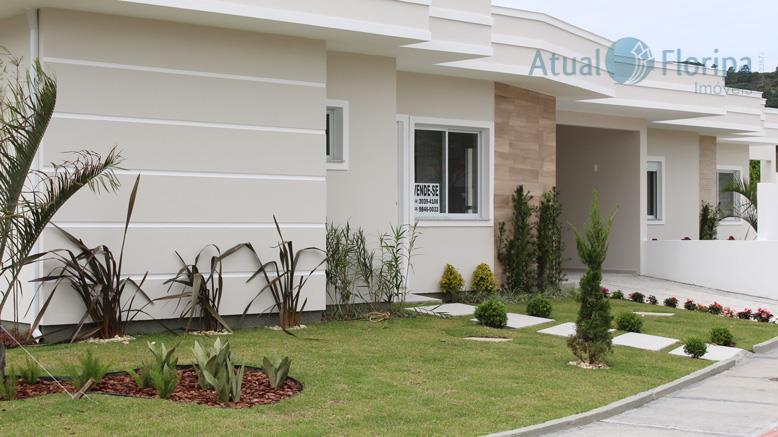 linda casa térrea de esquina no bairro cachoeira do bom jesus em florianópolis. 2 quartos, 1...