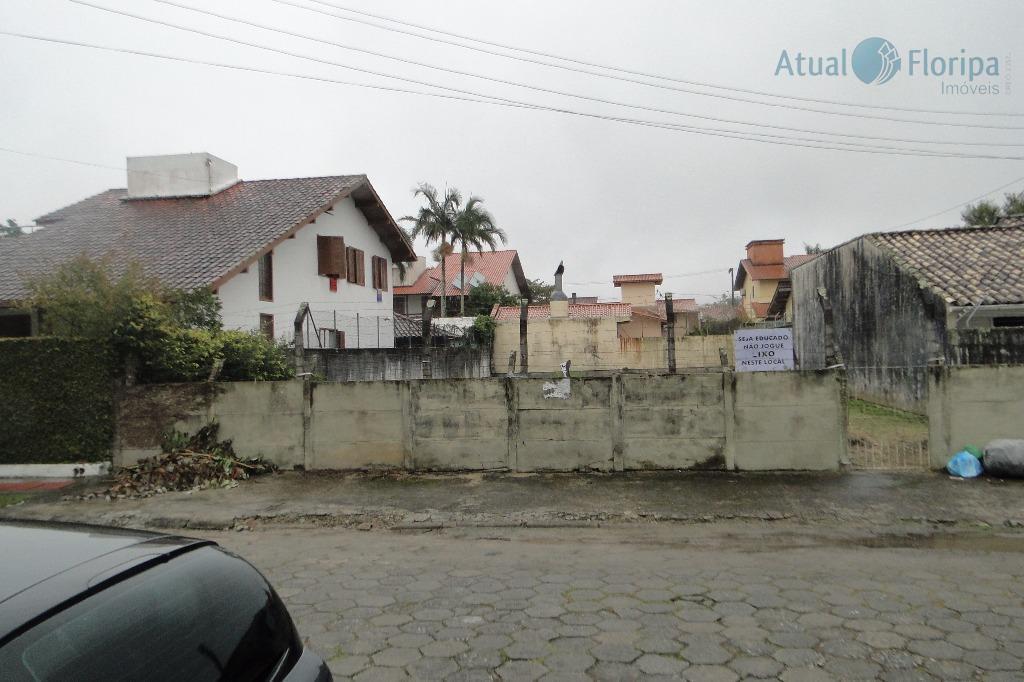 Terreno residencial à venda, Santa Mônica, Florianópolis - TE0101.