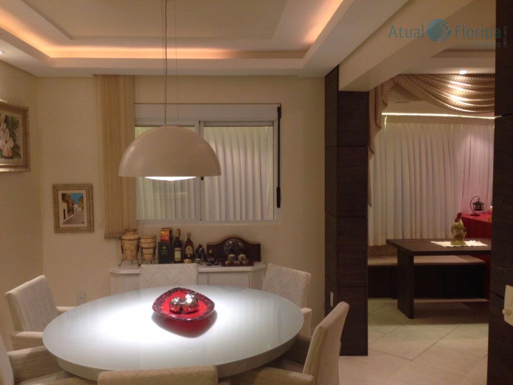 lindo apto, em ótima localização no itacorubi , com 4 dormitórios sendo 1 suite, todo semi...