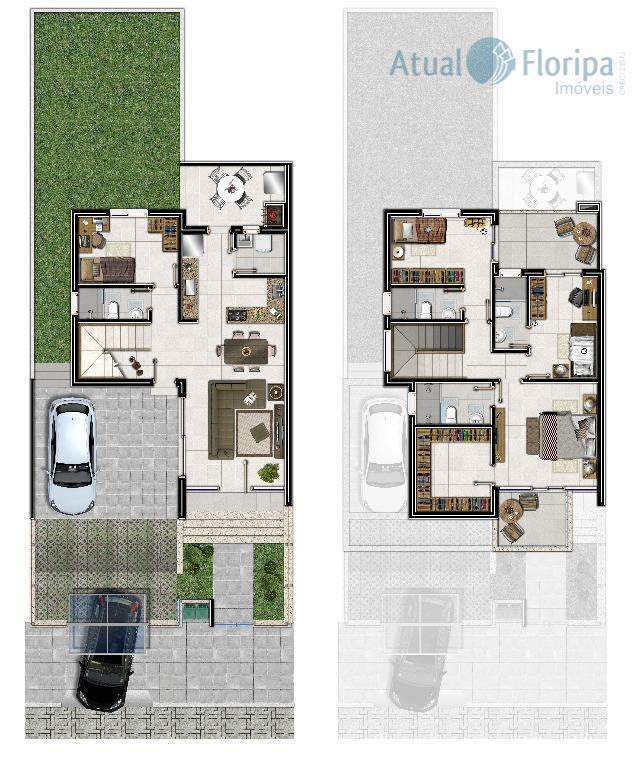 casa nova! em ótima localização, estando em bairro central na ilha, disponibilizando acessos fáceis e rápidos...