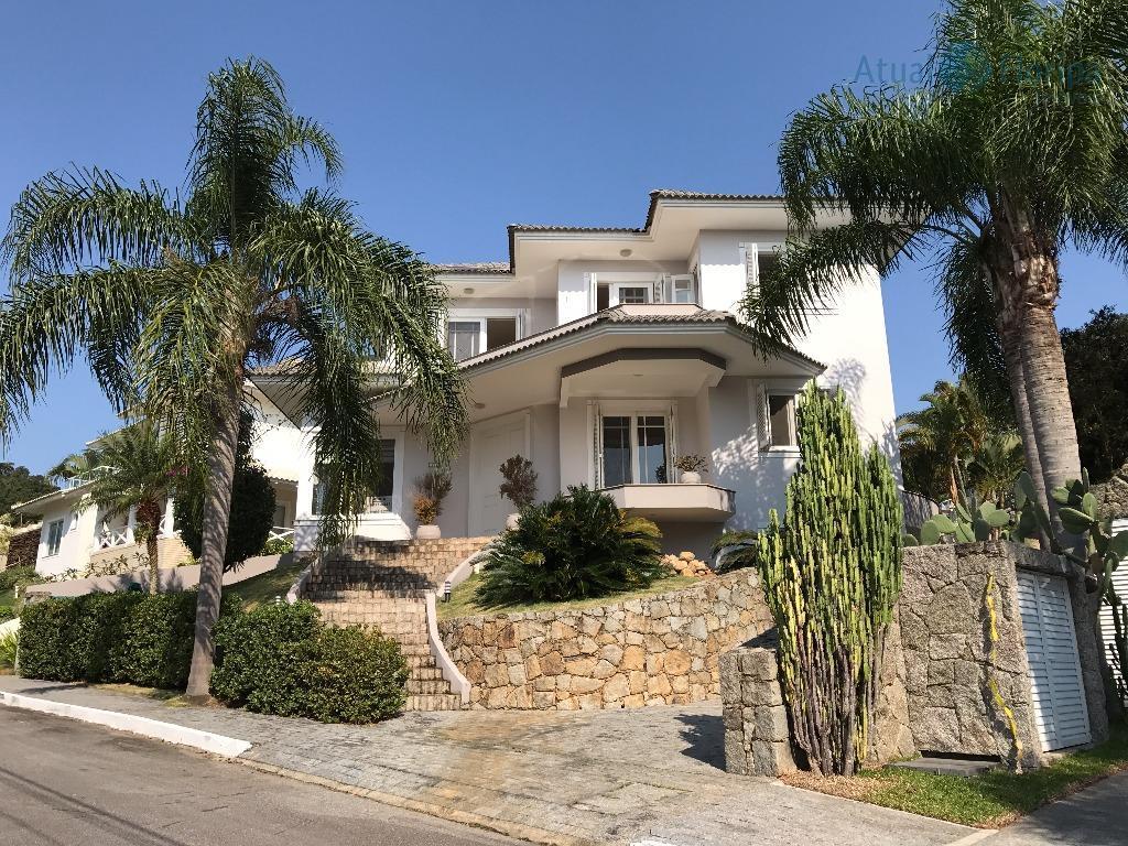 Linda Casa em condomínio fechado à venda, Cacupé, Florianópolis.