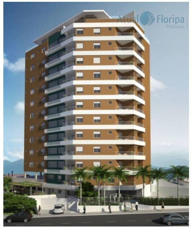 Apartamento residencial à venda, Abraão, Florianópolis.