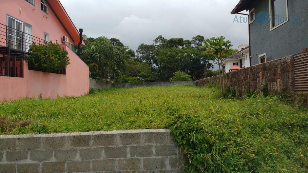 Terreno residencial à venda, Santa Mônica, Florianópolis.