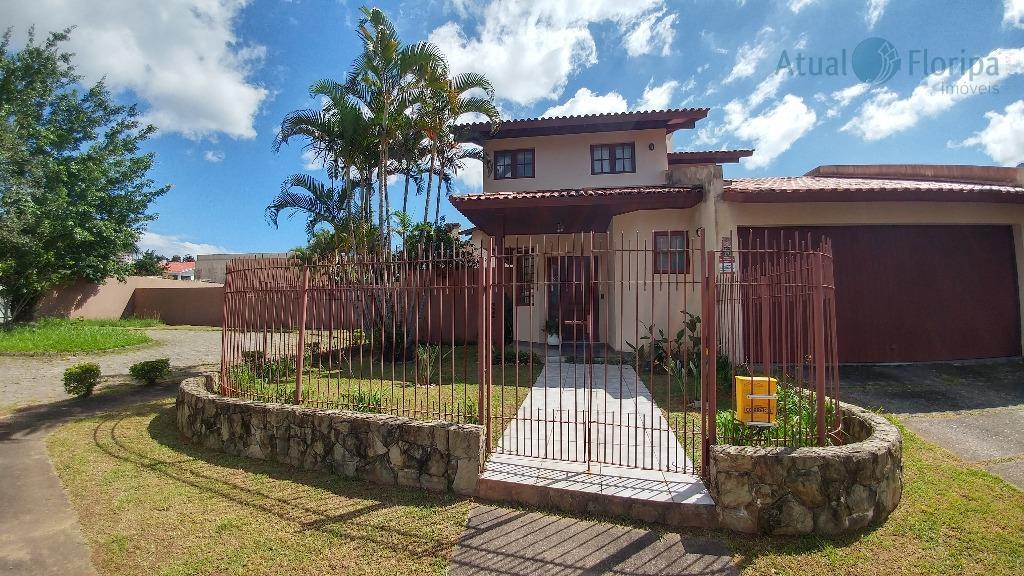 Casa residencial à venda, Jardim Anchieta, Florianópolis.