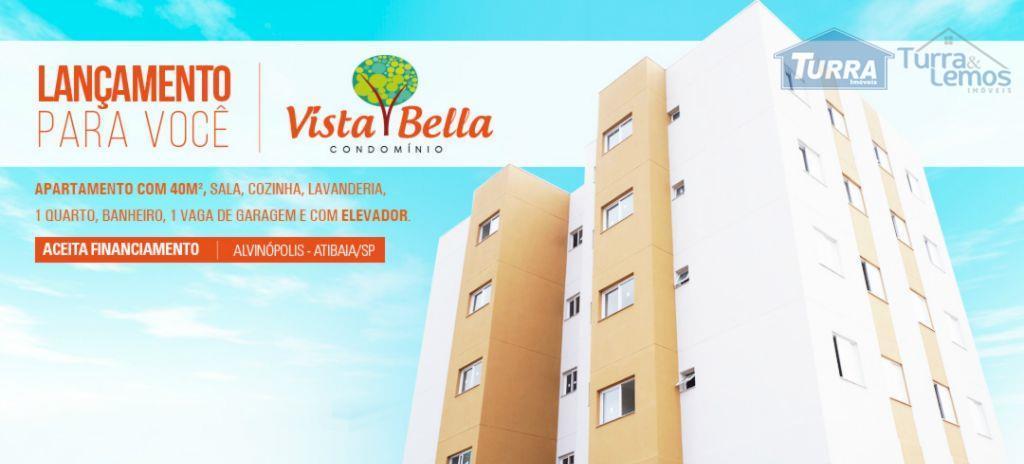 Apartamento residencial à venda, Condomínio Vista Bella, Atibaia - AP0067.