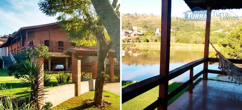Casa residencial à venda, Jardim Estância Brasil, Atibaia - CA0821.