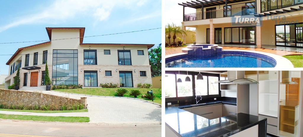 Casa residencial à venda, Loteamento Fechado Porto Atibaia, Atibaia - CA0857.