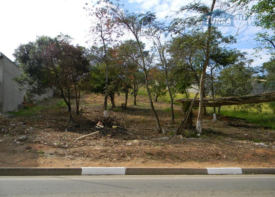 Terreno residencial à venda, Jardim Estância Brasil, Atibaia - TE0109.