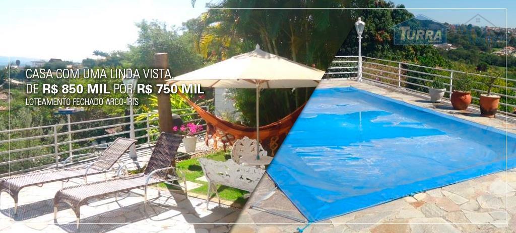 Casa residencial à venda, Parque Arco Iris, Atibaia - CA0157.