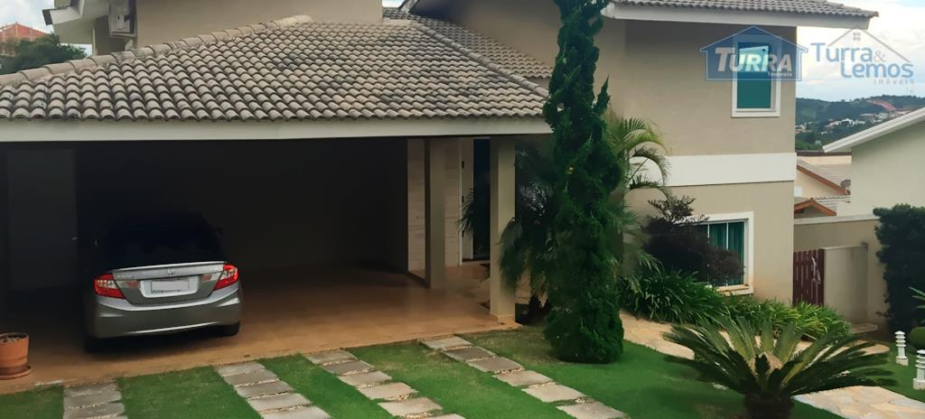 Casa residencial à venda, Loteamento Fechado Aguá Verde, Atibaia - CA0365.