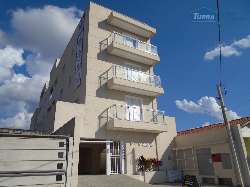 Apartamento residencial à venda, Edifício Athenas, Atibaia - AP0135.