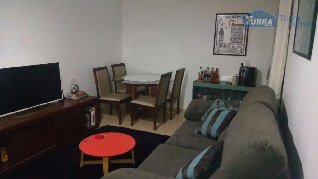 Apartamento residencial à venda, Edifício Vila Sorrento, Atibaia - AP0172.