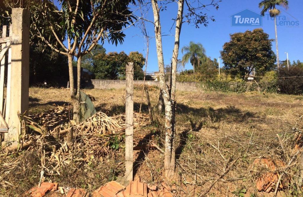 Terreno residencial à venda, Jardim Estância Brasil, Atibaia - TE0521.