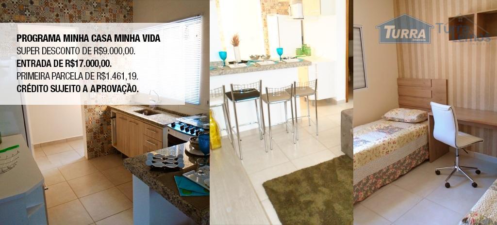 Apartamento residencial à venda, Residencial Vale do Imperial, Atibaia - AP0156.