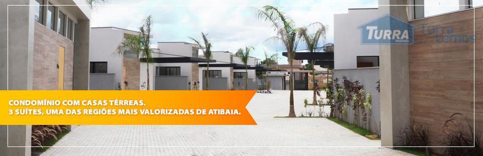Casa residencial à venda, Condomínio Reserva Jacarandá, Atibaia - CA0977.