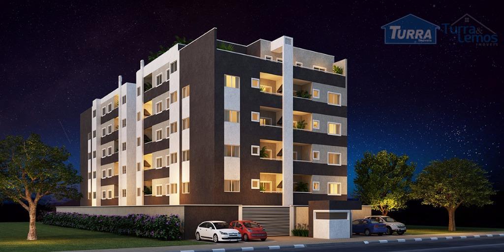 Apartamento residencial à venda, Alvinópolis, Atibaia - AP0266.