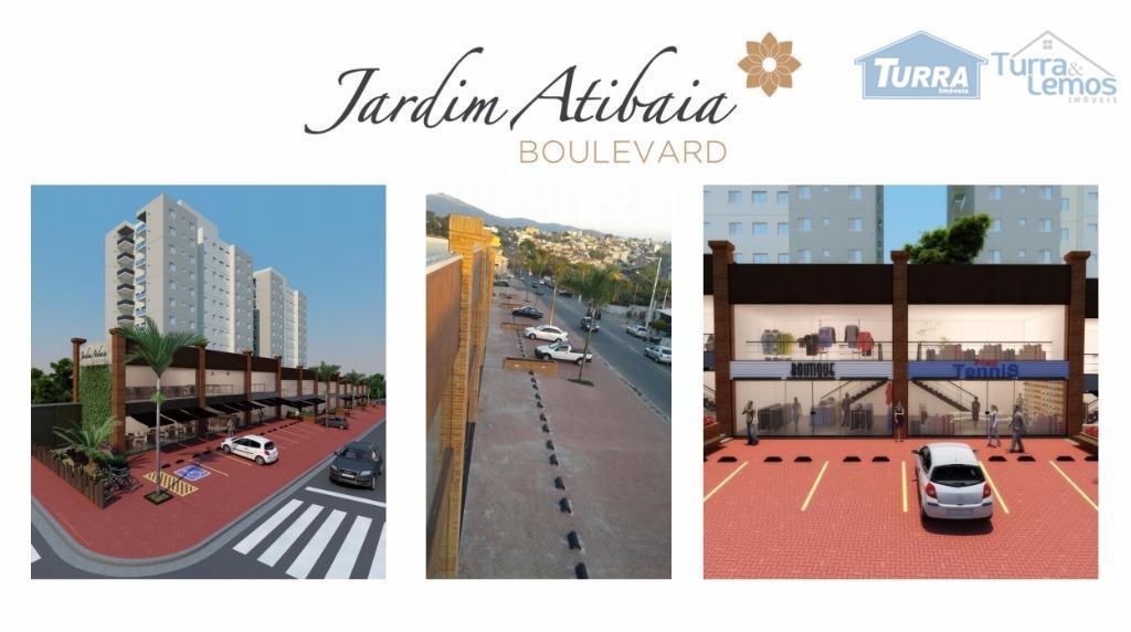 Salão comercial para locação, Jardim Alvinópolis, Atibaia - SL0103.