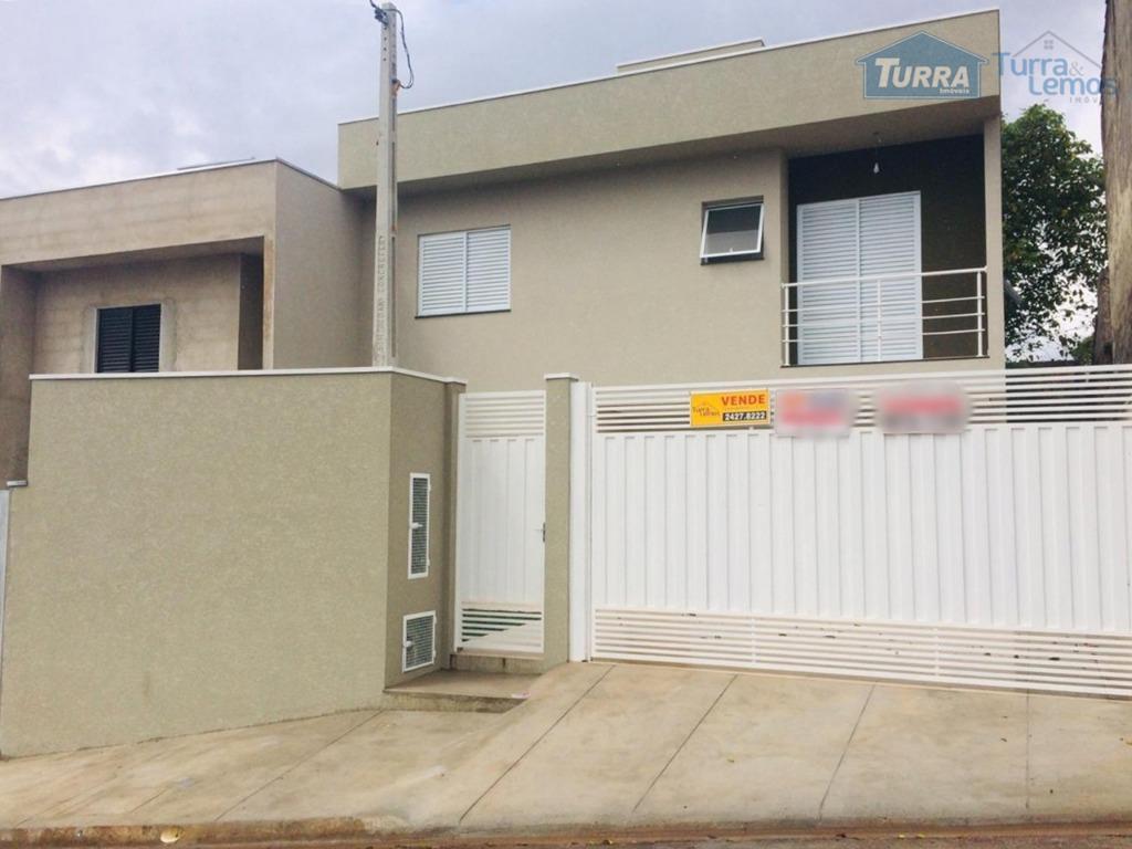 Casa com 3 dormitórios à venda, 92 m² por R$ 380.000 - Jardim Alvinópolis - Atibaia/SP - CA2630