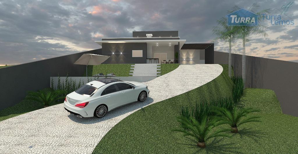 Casa com 3 dormitórios à venda, 136 m² por R$ 790.000 -  Loteamento Fechado Serra da Estrela - Atibaia/SP - CA2644