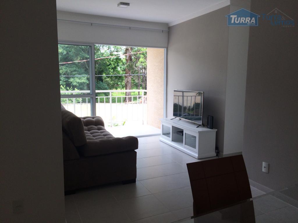 Apartamento com 3 dormitórios para alugar, 93 m² por R$ 1.800/mês - Jardim Floresta - Atibaia/SP - AP0422