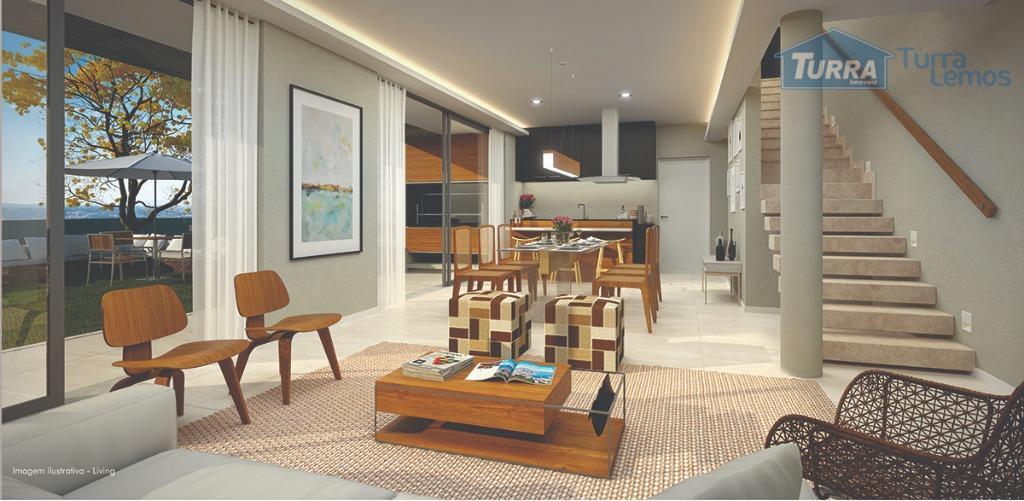 Casa com 3 dormitórios à venda, 196 m² por R$ 799.000 - Nova Gardênia - Atibaia/SP - CA2689