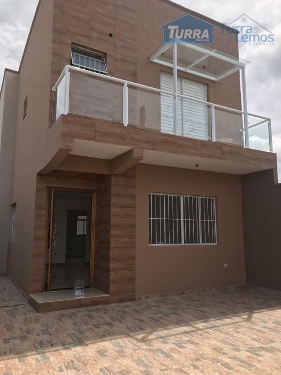 Casa com 3 dormitórios à venda, 103 m² por R$ 350.000 - Nova Atibaia - Atibaia/SP - CA2696