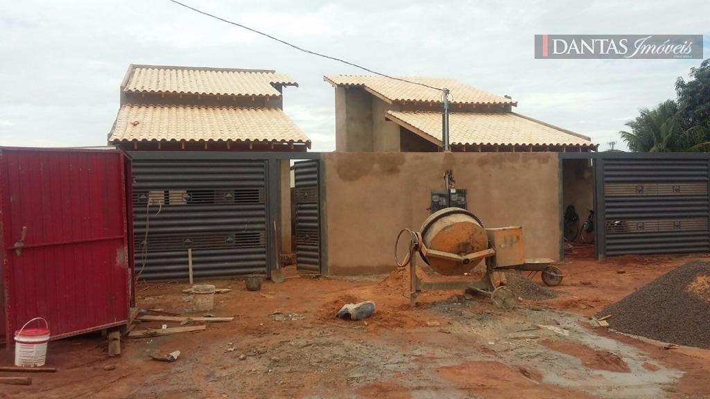 Casa em construção, Vila Nova Campo Grande, Campo Grande.