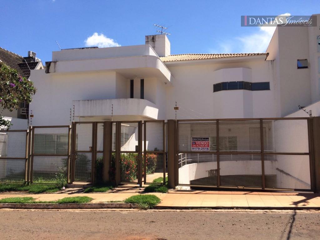 Sobrado  residencial para venda e locação, Chácara Cachoeira, Campo Grande.