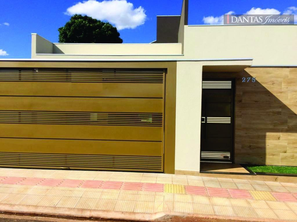 Casa  residencial em construção à venda, Vila Vilas Boas, Campo Grande.