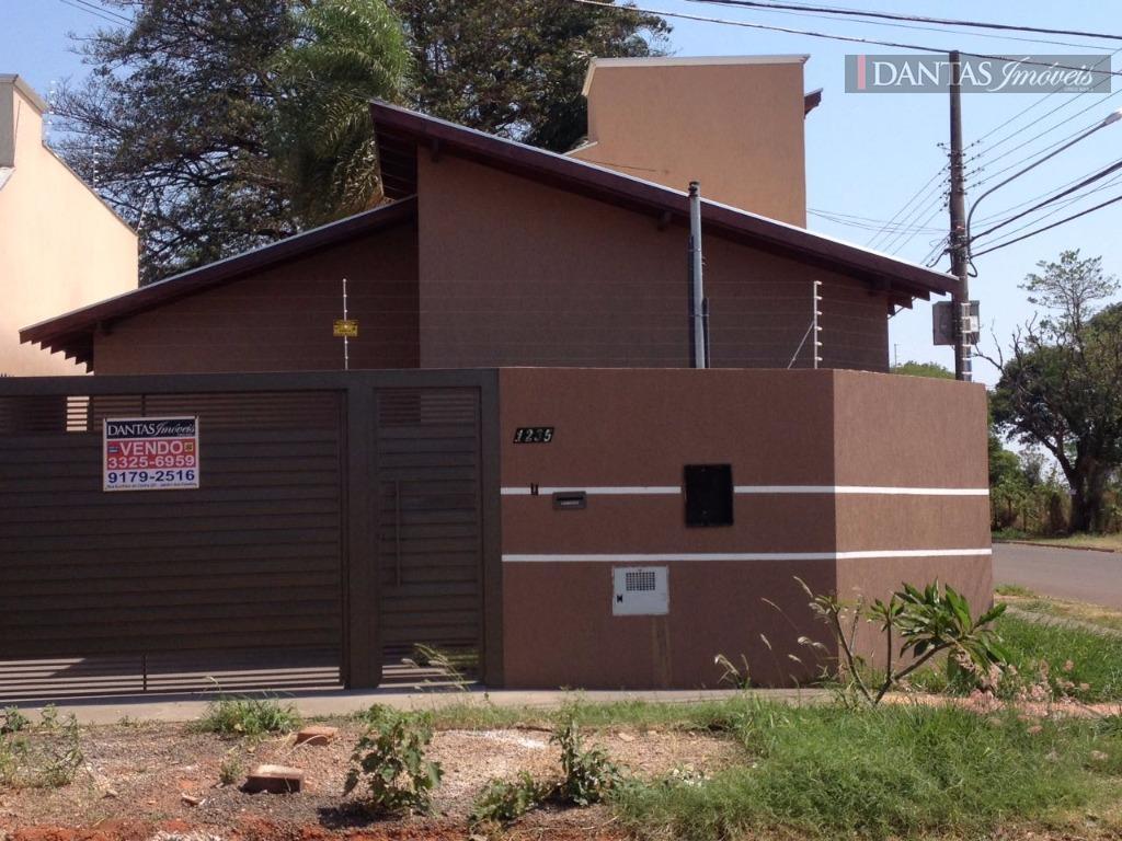 Casa residencial à venda, Parque Residencial Rita Vieira, Campo Grande - CA0260.