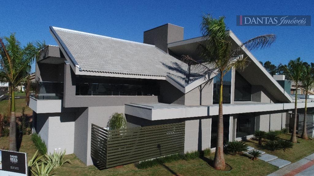 Sobrado residencial à venda, Residencial Damha, Campo Grande.