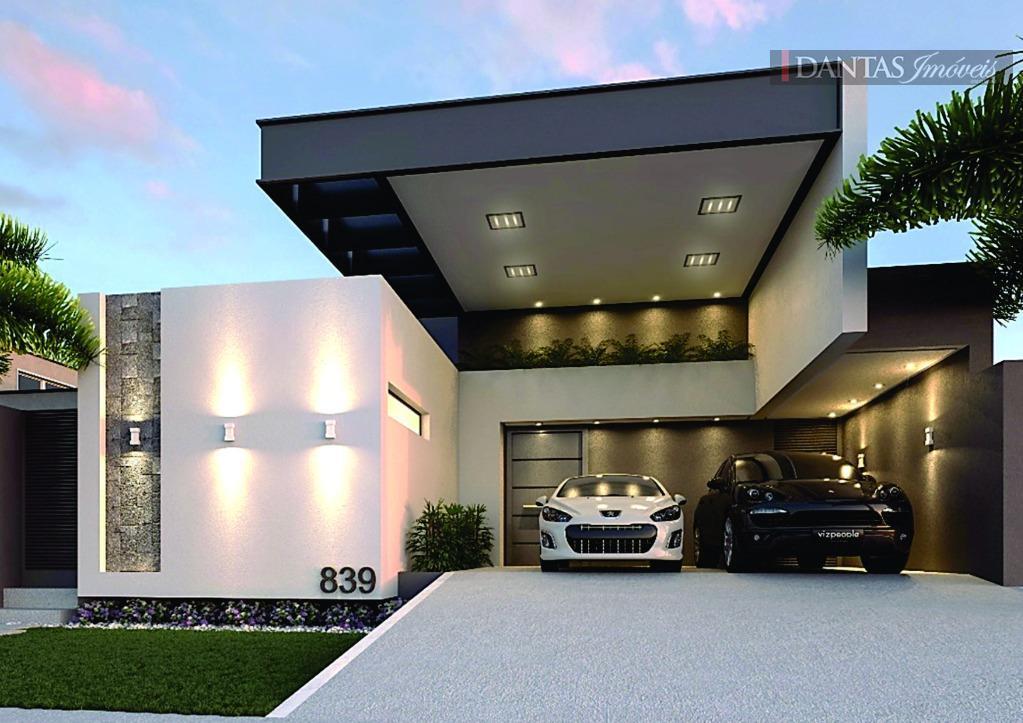 Damha IV - Casa térrea, projeto ímpar, Campo Grande MS.