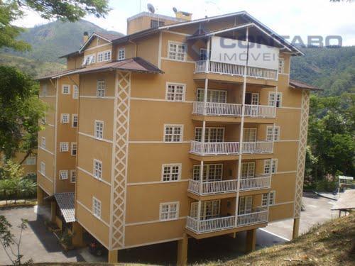 Apartamento residencial para locação, Itaipava, Petrópolis.