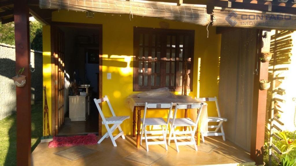 casa composta por 02 quartos, sala, cozinha americana, área de serviço, piscina, espaço gourmet e jardim....