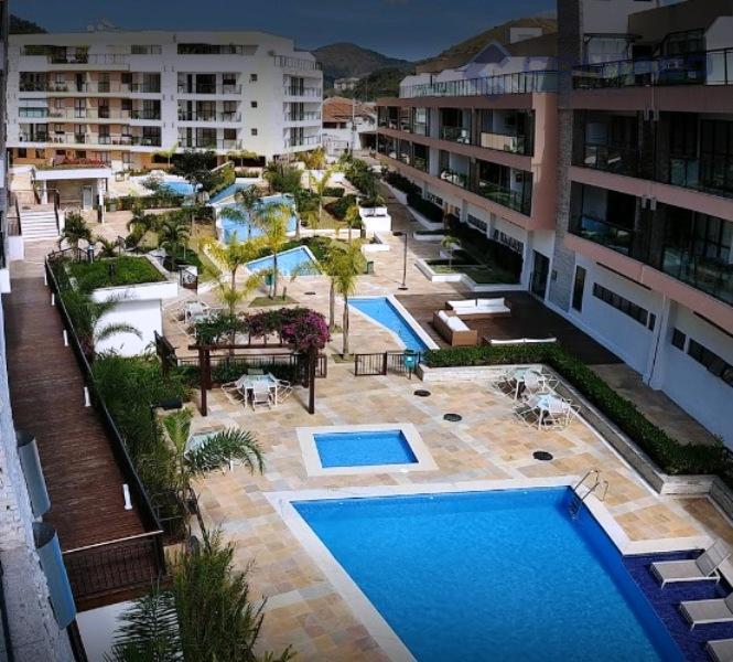 Apartamento residencial à venda, Itaipava, Petrópolis - AD0001.