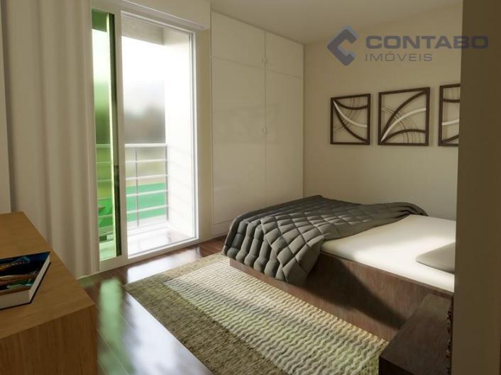 composto de 02 quartos sendo 01 suite, sala, sacada, banheiro, cozinha, área de serviço e 01...