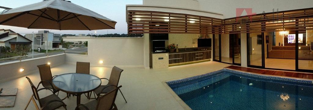 Lindo sobrado residencial à venda, Condomínio Portal de Bragança Horizonte, Bragança Paulista.