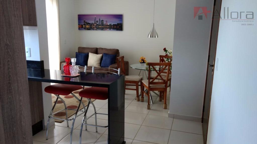 Apartamento DECORADO Com Vista Para Lago Taboão à Venda,  Bragança Paulista.
