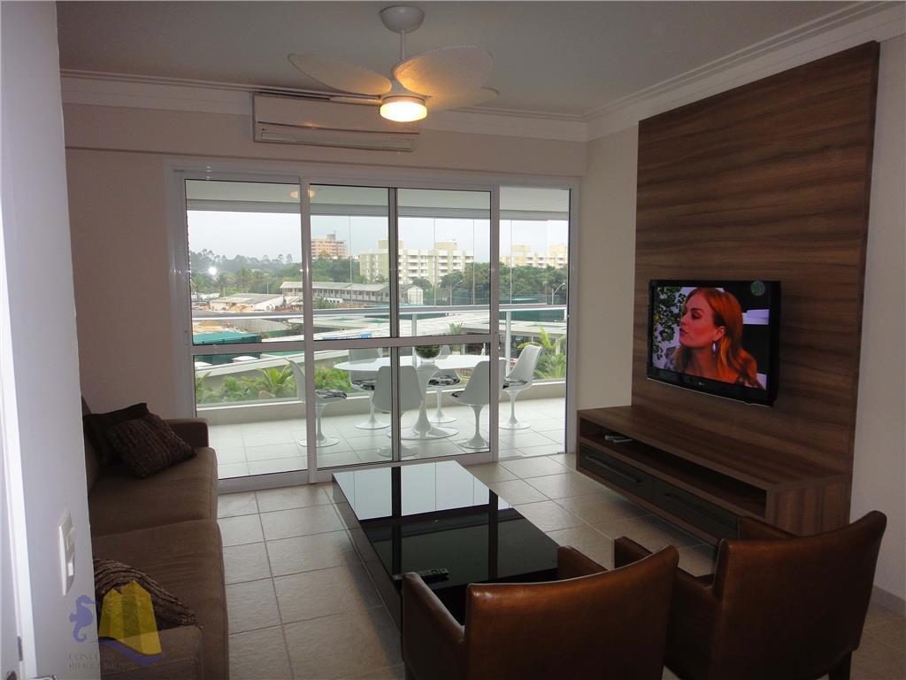 Apartamento residencial para locação, Riviera de São Lourenço, Bertioga - AP0150.